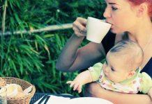С чем можно пить чай кормящей маме в первый месяц