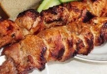 Маринад для шашлыка из свинины с уксусом и минеральной водой