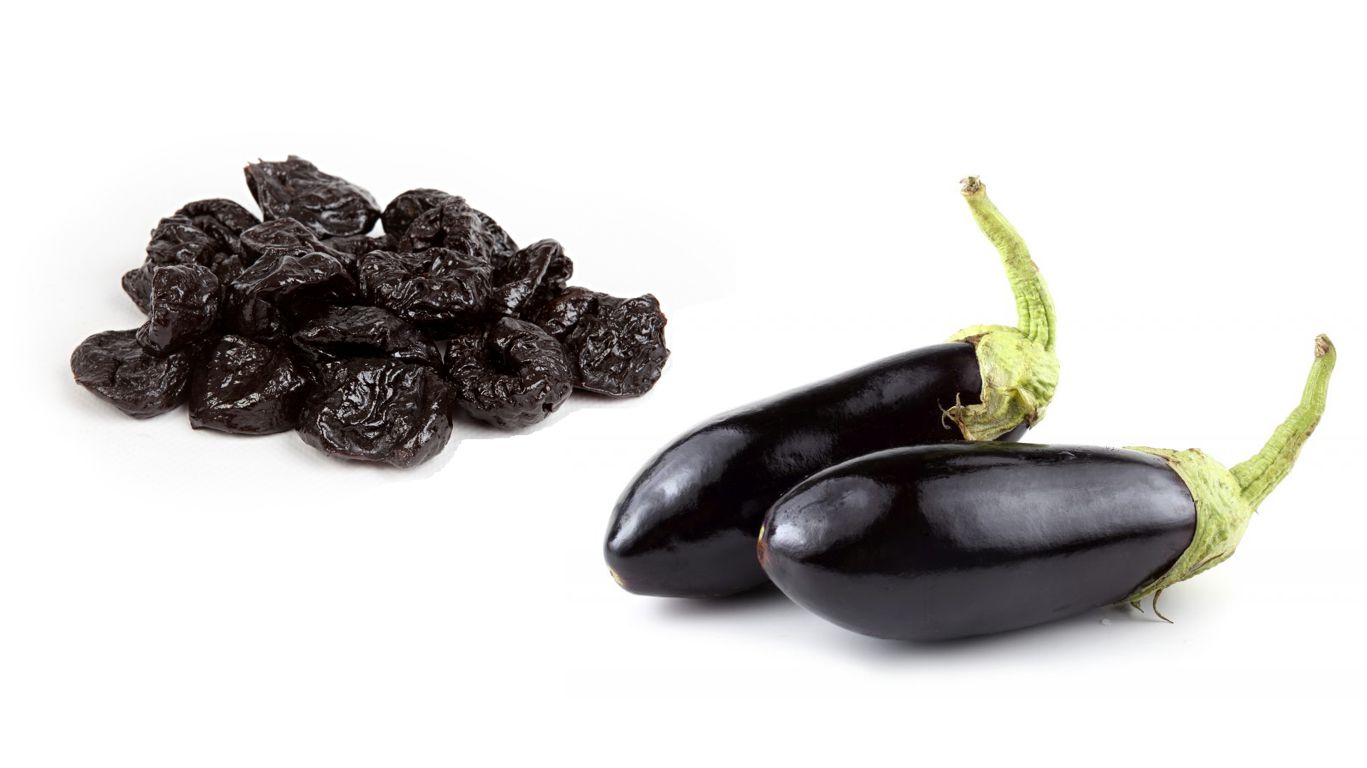Баклажаны с черносливом