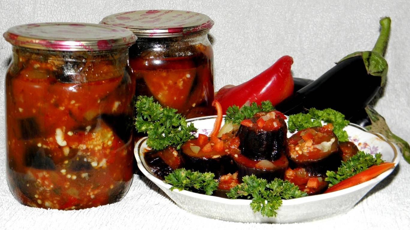 Баклажаны с томатом