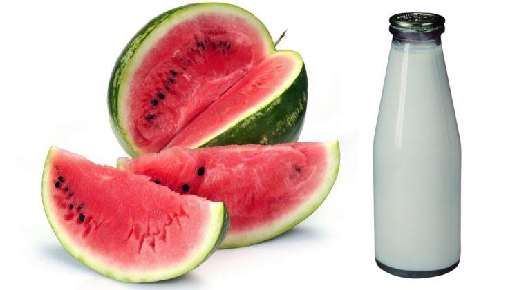Кефирно арбузная диета для похудения