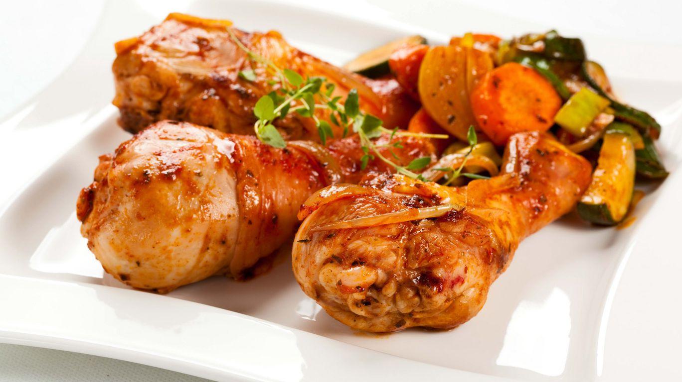 Жареное куриное мясо
