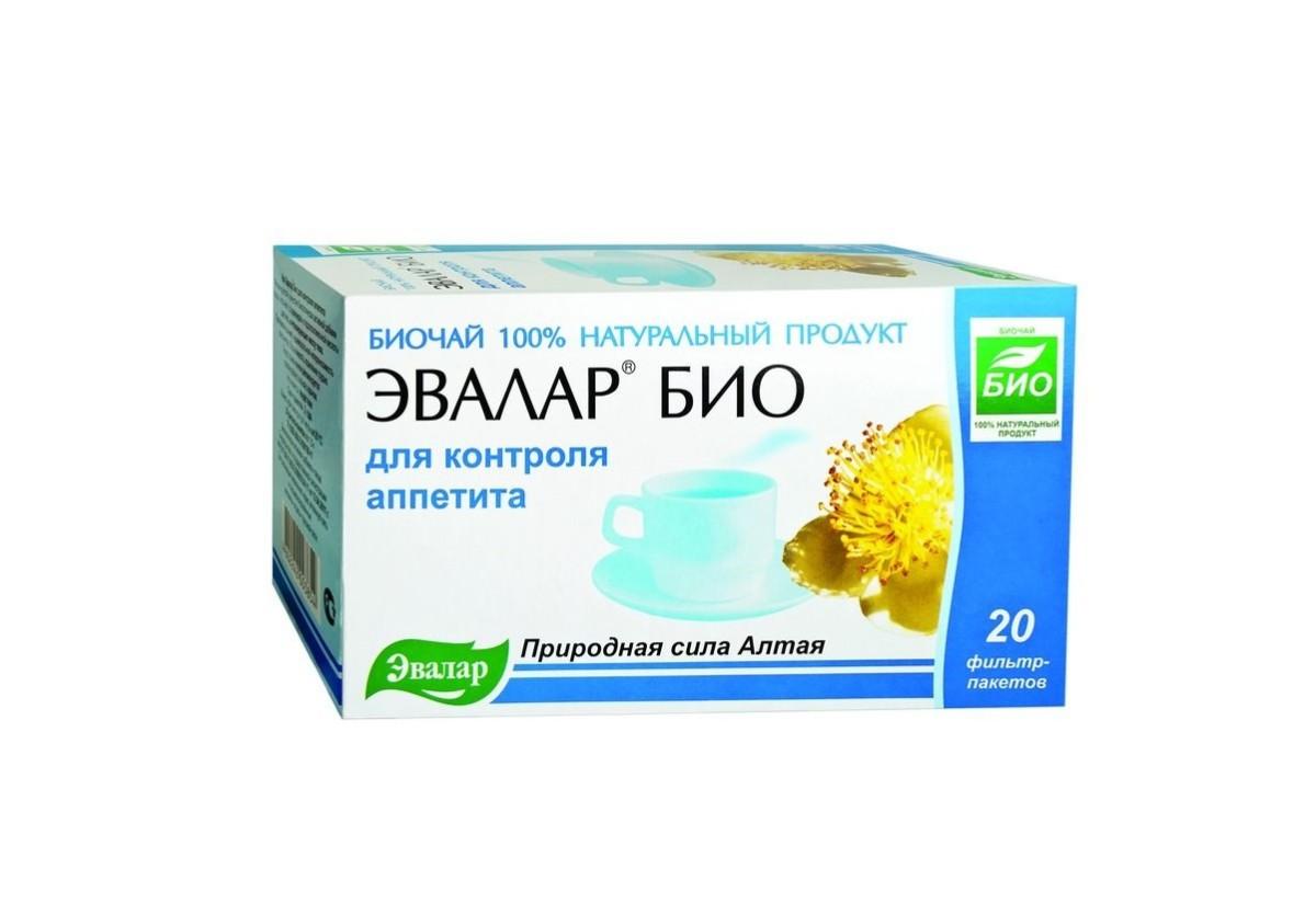 Чай «Эвалар био для контроля аппетита»