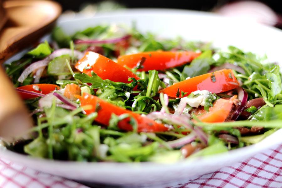 Греческий салат рецепт классический с руколой