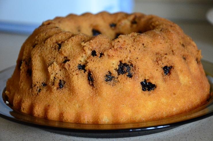 Кефирный пирог