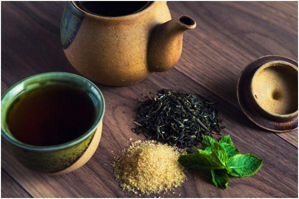 Классический рецепт чая с мятой