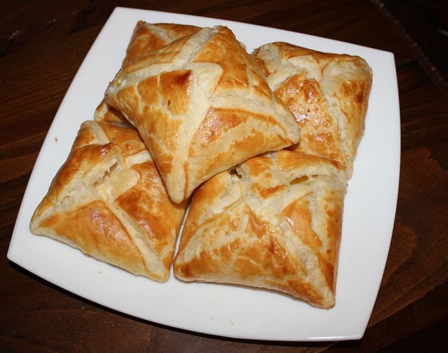 «Пятиминутные» сырные хачапури