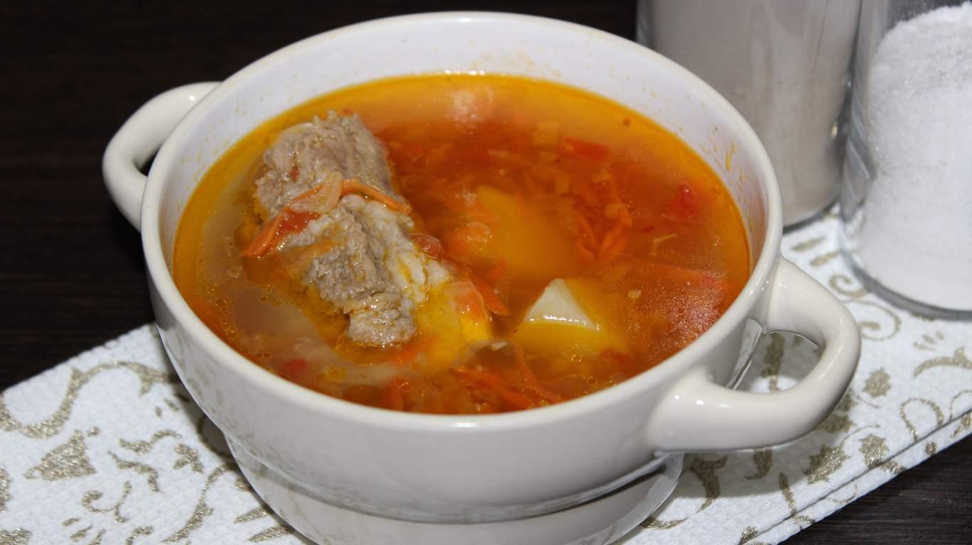 Суп из ребер