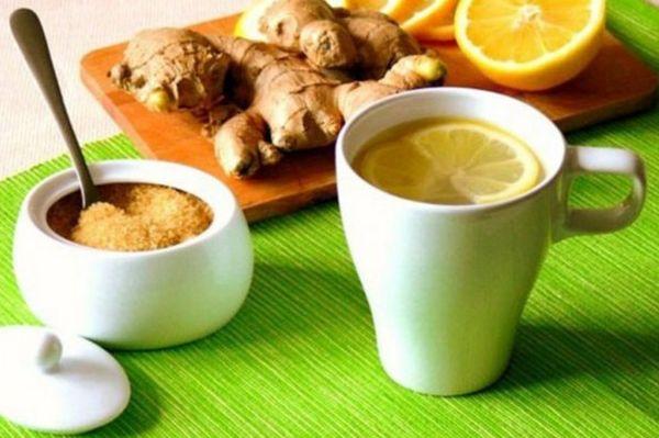 Воздействие имбирного чая на организм